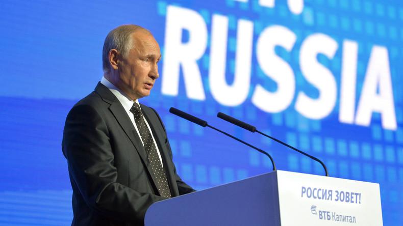 Putin: Washington will Al-Nusra-Front gegen Assad nutzen