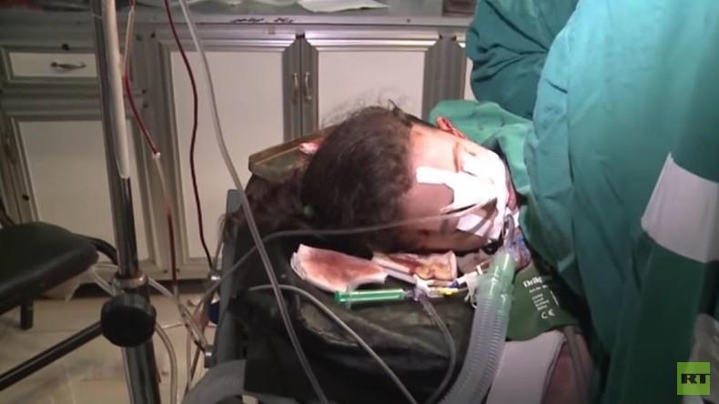 """""""Rebellen"""" beschießen Zivilisten in Aleppo mit Mörserfeuer und töten fünf Kinder"""