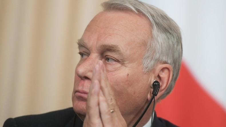Französischer Außenminister zu Russland: Kreislauf von Sanktionen ist nicht unsere Priorität