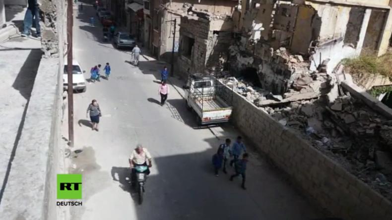 Syrien: Nach Jahren des Krieges und der Befreiung vom IS kehren Vertriebene zurück nach Homs