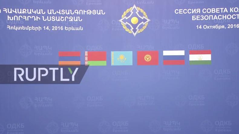 Live: Putin nimmt an Sitzung zur Bekämpfung des internationalen Terrorismus in Jerewan teil
