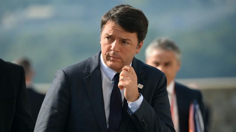Rom: Proteste gegen Ministerpräsidenten Renzi