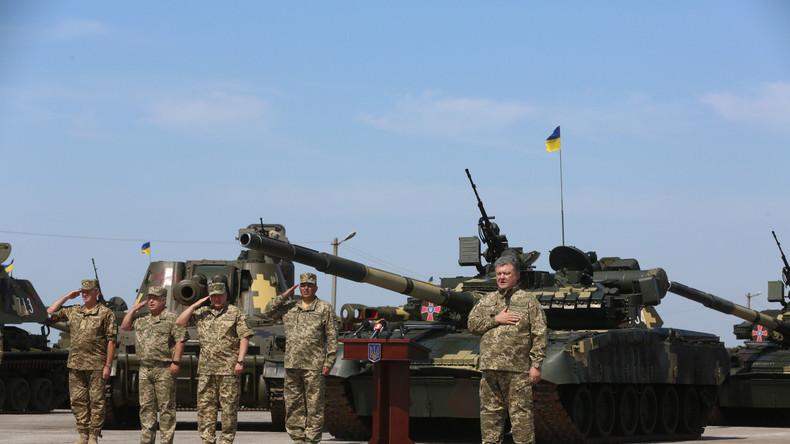 Ukrainische Kompanie attackiert Stellungen von VR Donezk