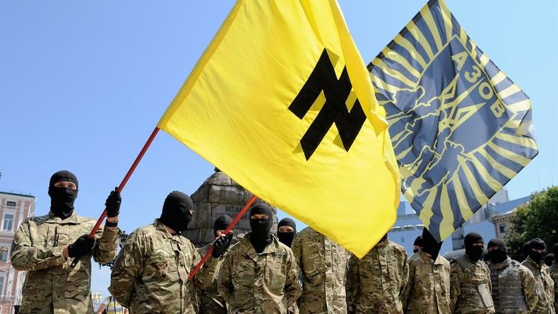 """Ukraine: Rechtsextremes Regiment """"Asow"""" gründet neue Partei """"Nationales Corps"""""""