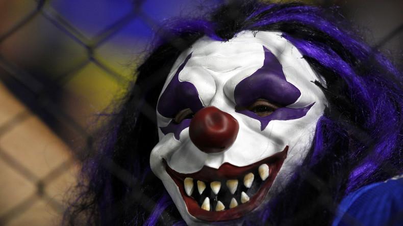 Grusel-Clowns -  jetzt in Schweden: Junger Mann niedergestochen