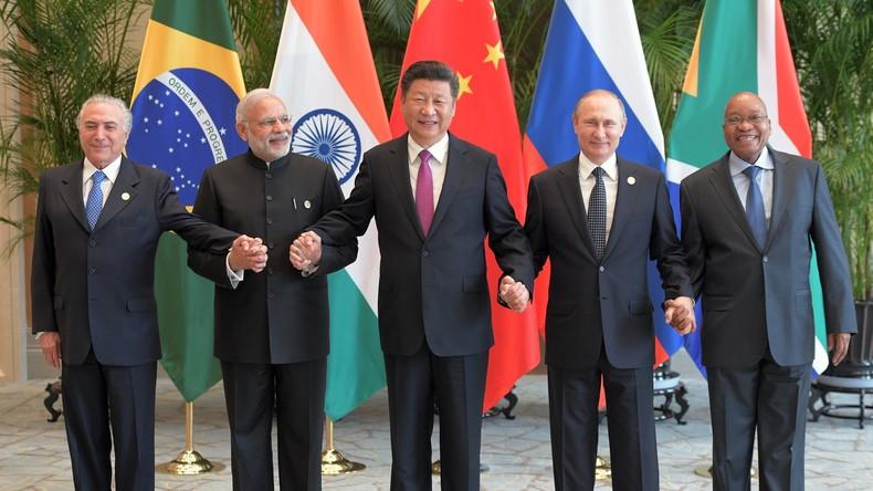 Wladimir Putin nimmt am BRICS-Gipfel in Indien teil