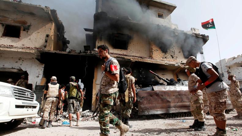 IS-Terroristen töten mindestens 14 libysche Militärs in Sirte