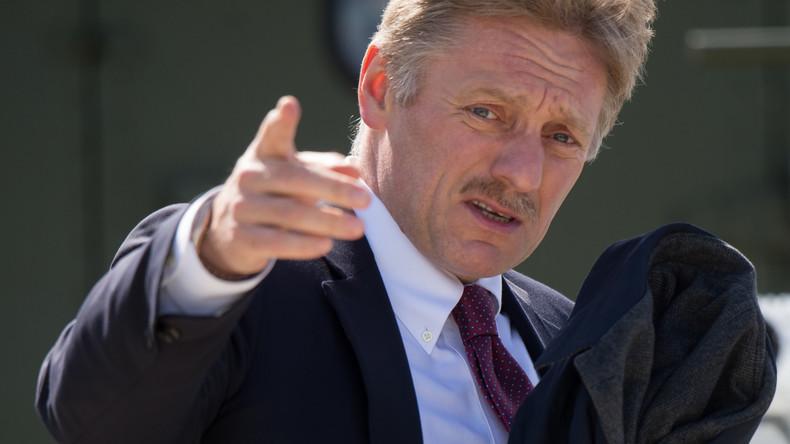 """Kremlsprecher Dmitri Peskow zu geplanten CIA-Cyberattacken: """"Wir werden auf der Hut sein"""""""