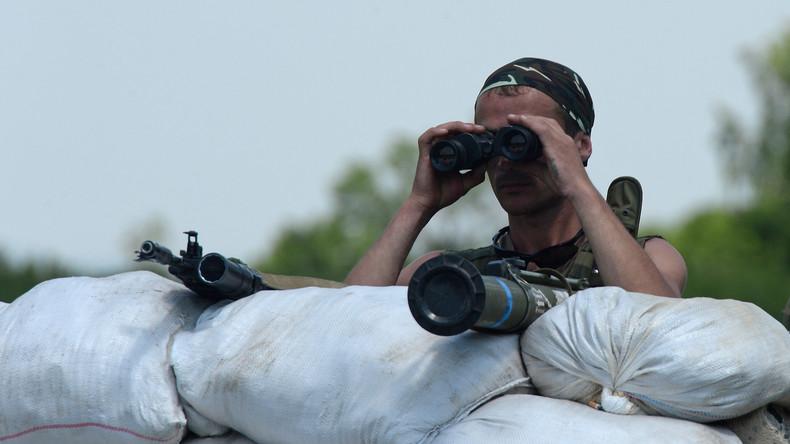 Volksrepublik Lugansk: Berichte über ausländische Söldnern im Donbass