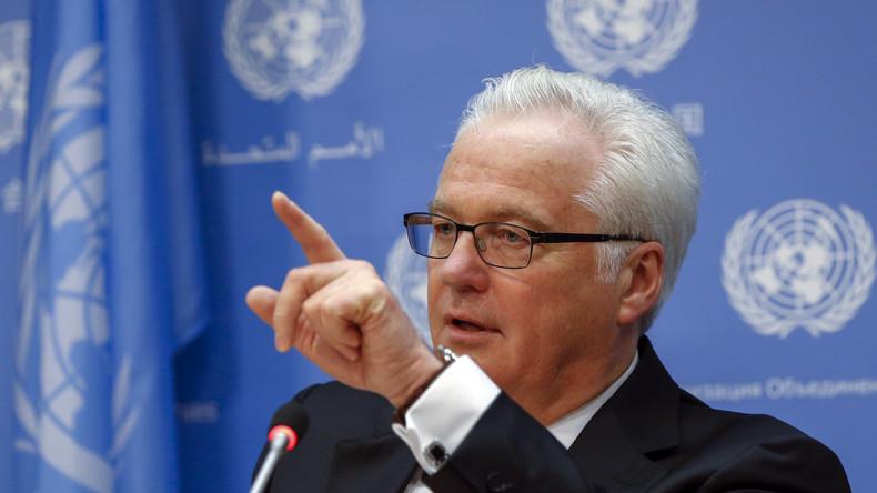 """Russlands UN-Botschafter Tschurkin zu den USA-Beziehungen: """"So schlecht wie seit 1973 nicht mehr"""""""