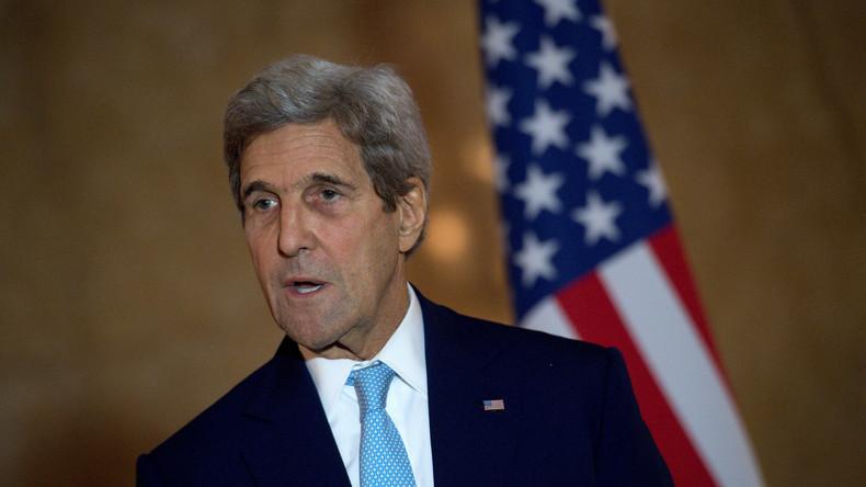 Friedensaktivist John Kerry - Das doppelzüngige Spiel der USA in Syrien