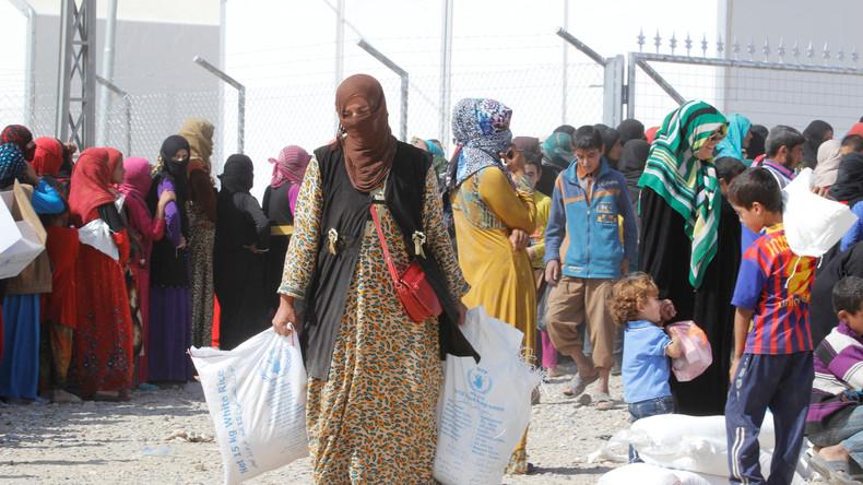 In den vom IS kontrollierten Gebieten haben Frauen keinerlei Rechte.