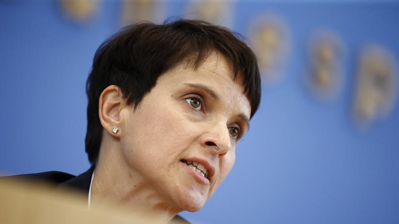 Staatsanwaltschaft ermittelt gegen Frauke Petry