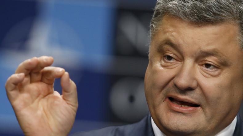 Poroschenko erweitert Sanktionen gegen Russland