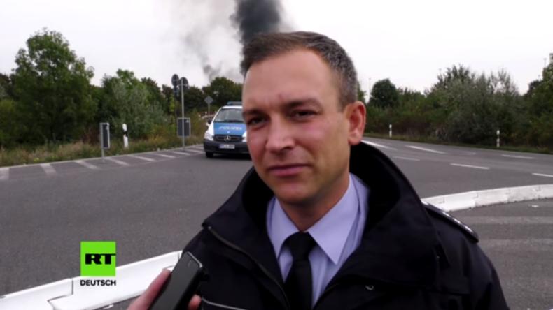 Ludwigshafen: Brand im BASF-Werk