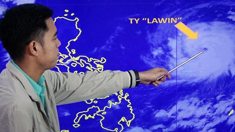 Philippinen: Stärkster Taifun seit drei Jahren erwartet