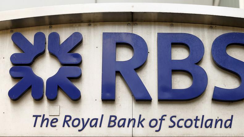 Royal Bank of Scotland setzt Führung der RT-Konten fort