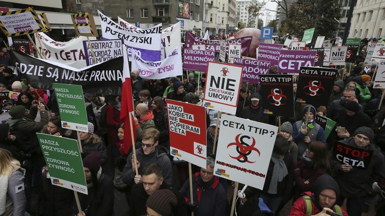 CETA-Befürworter setzen Wallonie unter Druck: Unterzeichnung am 27. Oktober könnte scheitern