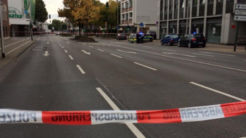Nordrhein-Westfalen: Schuss und mögliche Geiselnahme in Düren
