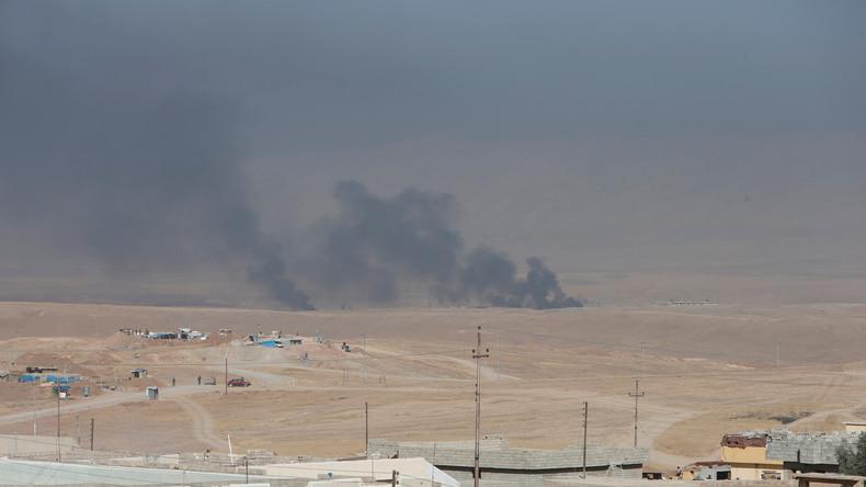 Angriff auf Mossul - Vereinte Nationen wollen Flüchtlingslager in Syrien errichten