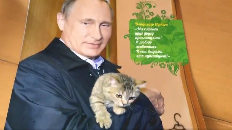 Putin-Kalender 2017 gewinnt an Popularität im Westen