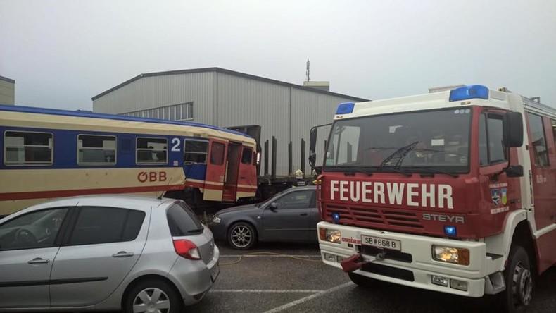 Österreich: Zugunglück in Wieselburg – mindestens 16 Schwerverletzte