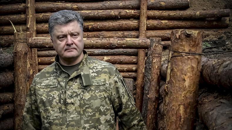 """Antwort auf Poroschenko: """"Ende der Maskerade"""""""