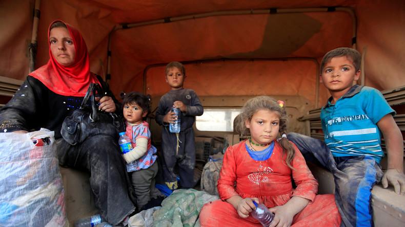 Offensive auf Mossul: Zivilisten im Kreuzfeuer