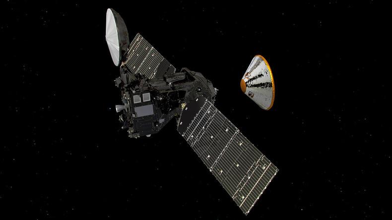 ExoMars: Europäisch-russische Raumsonde Schiaparelli landet auf dem Roten Planeten