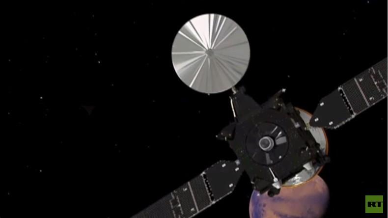 Live: Europäisch-Russischer Orbiter TGO erreicht Marsorbit – Schiaparelli landet