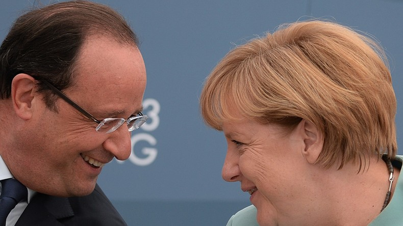 Live: Merkel und Hollande in der Pressekonferenz zu den Normandie-Vier- Gesprächen in Berlin