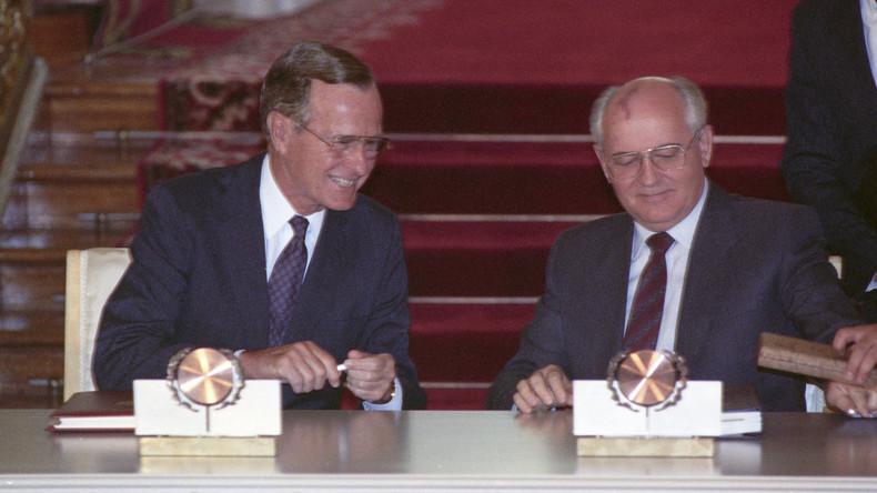 Gorbatschow und Bush Senior wollen Moskau und Washington aus der Sackgasse helfen