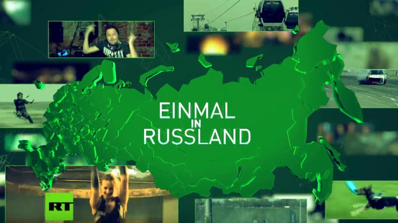 """Ab Samstag: """"Einmal in Russland"""" - Die neue Doku-Reihe auf RT Deutsch"""