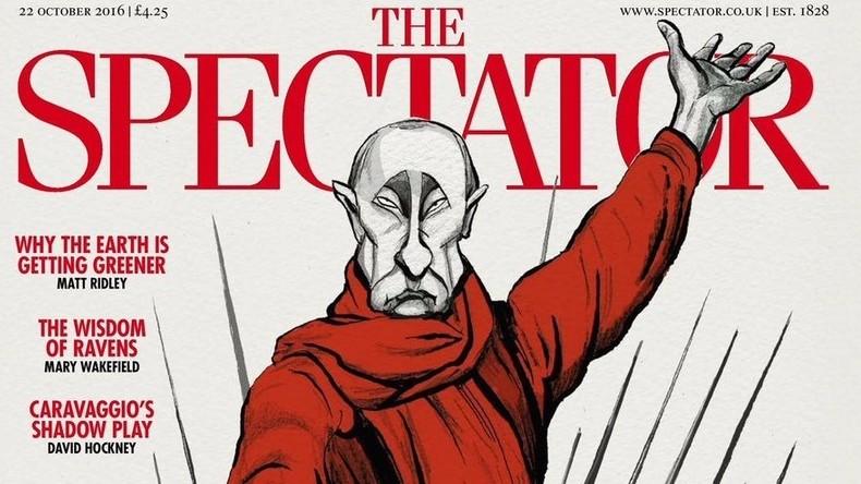 Spectator: Mutter-Heimat-Statue, Putin und RT auf der Titelseite