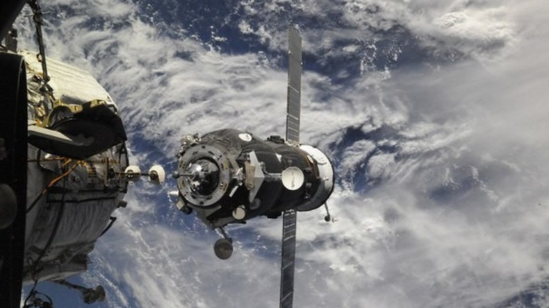 Flugleitzentrale Moskau: Sojus MS-02 an ISS angedockt
