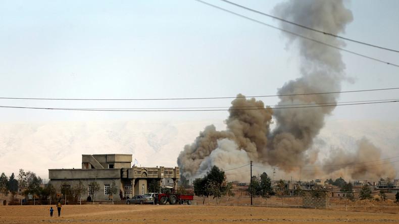 Mossul: IS-Kämpfer nutzen 550 irakische Familien als menschliche Schutzschilde