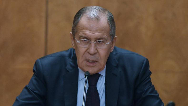 Lawrow: Jedwede einseitige Sanktionen werden scheitern