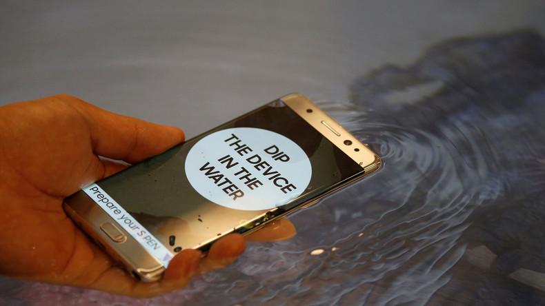 Russischer Katastrophenschutz warnt vor brennenden Smartphones