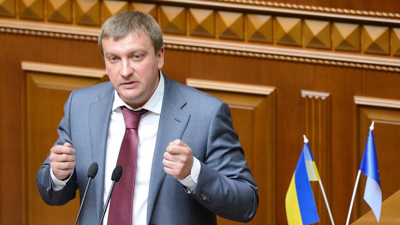 Ukrainischer Justizminister drängt auf neue Sanktionen gegen Russland