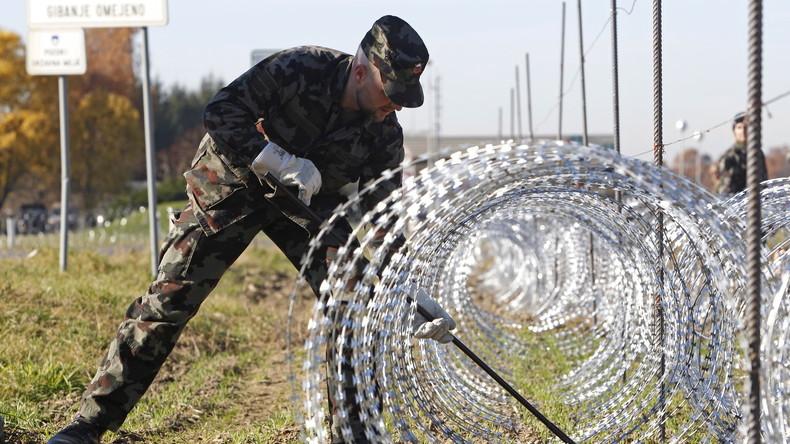 Slowenien errichtet Absperrungen an der Grenze zu Kroatien