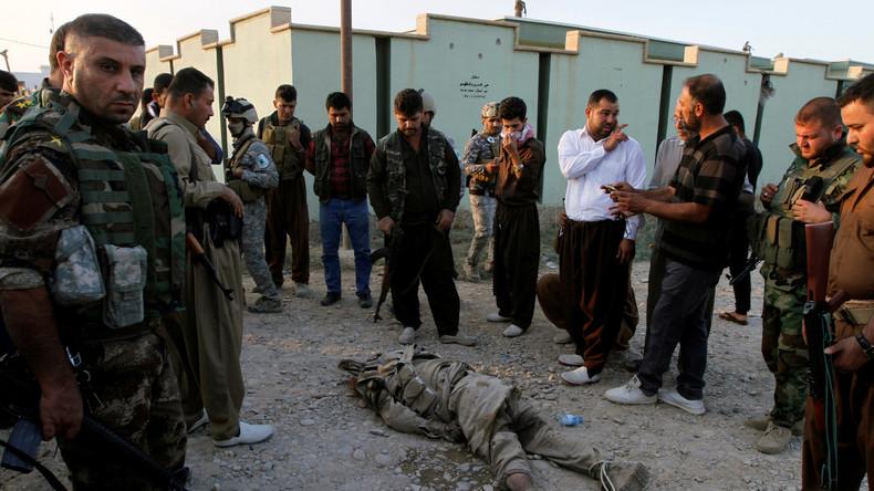 """Einwohner von Mossul sollen sich gegen den """"Islamischen Staat"""" aufgelehnt haben"""