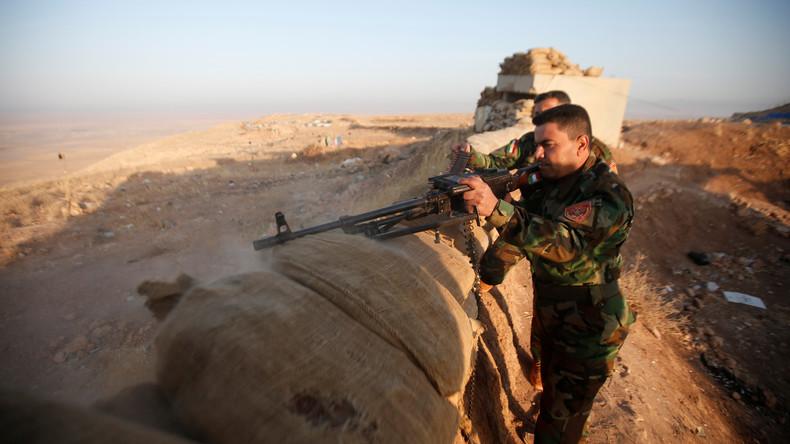 Irakische Truppen eröffnen zwei neue Frontabschnitte nordöstlich von Mossul