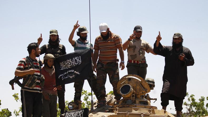 Kämpfer der al-Nusra-Front in Syrien.