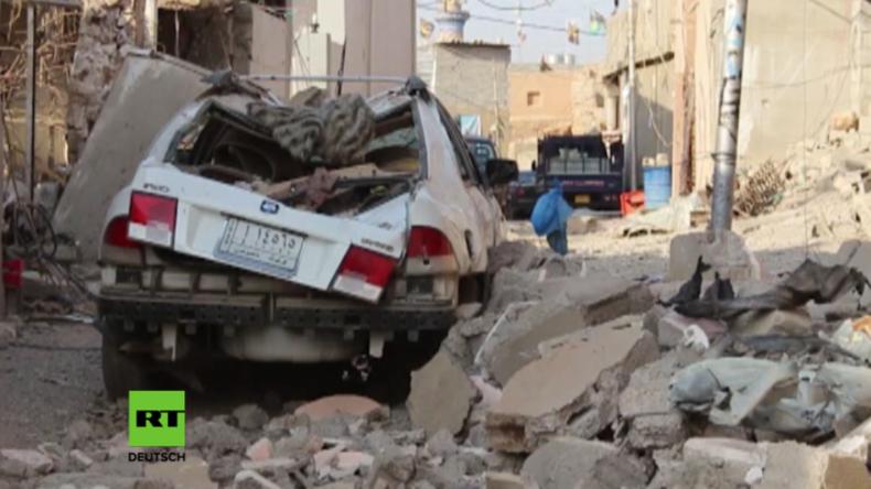 Irak: Angriff der US-Koalition auf Trauergesellschaft tötet Dutzende Zivilisten