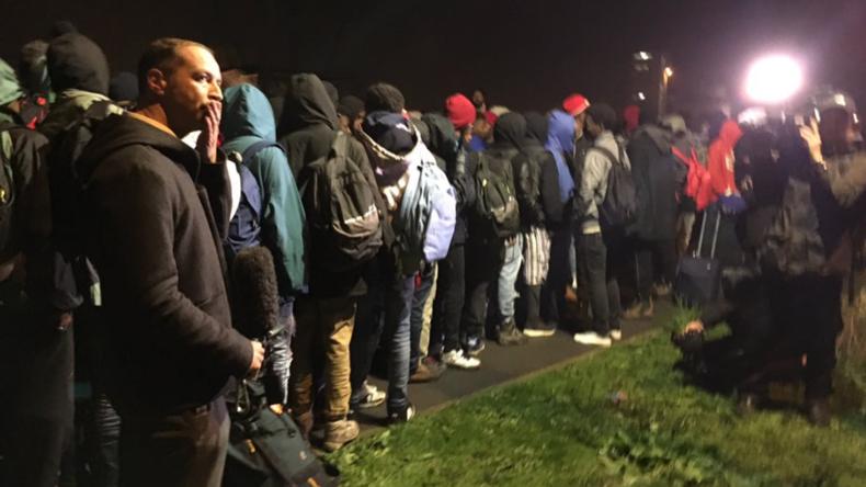 Frankreich: Flüchtlingslager von Calais wird geräumt