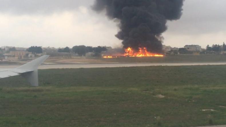 Flugzeugunglück auf Malta: Mindestens fünf Tote