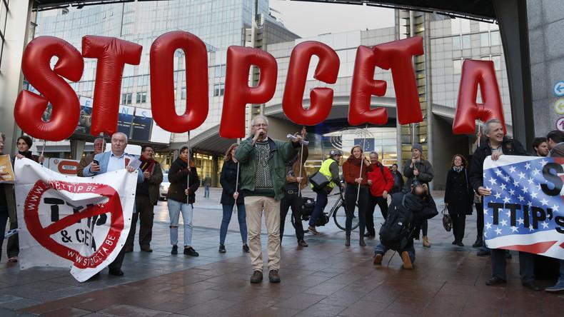 Nach dem Beispiel der Wallonie: Brüssel-Hauptstadt lehnt CETA ab