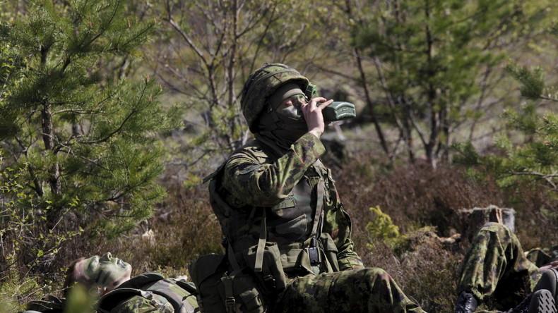 Hälfte des estländischen Aufklärungsbataillons ist kurz vor Alkoholismus - Studie