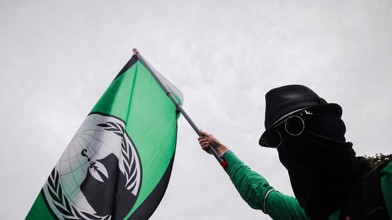 Nach Internet-Abstellung bei Assange: Anonymous rächt sich an Regierung von Ecuador
