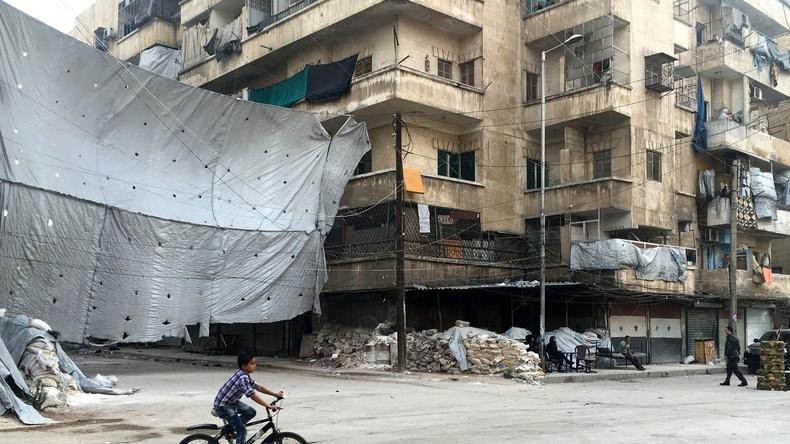 Terroristen beschießen Aleppo - 3 Personen tot, 28 verletzt